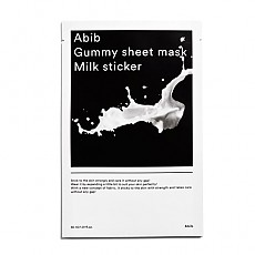 [Abib] Gummy Sheet Mask Milk Sticker 1ea
