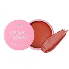 [3CE]小狐狸  2018春夏新款  Maison Kitsune Lip Balm (Peach Beige)
