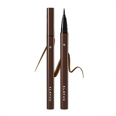 [Klavuu] Urban Pearlsation Easy Liquid Brush Liner (Ink Brown)