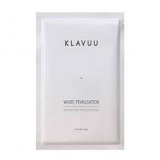 [Klavuu] White Pearlsation Enriched Divine Pearl Serum Mask 1ea