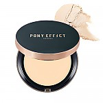 [MEMEBOX] PONY EFFECT Cover Fit Powder Foundation SPF40 PA+++ (Rosy Beige)