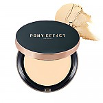 [MEMEBOX] PONY EFFECT Cover Fit Powder Foundation SPF40 PA+++ (Nude Beige)