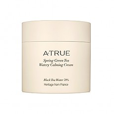 [A'True] Spring Green Tea Watery Calming Cream 80g