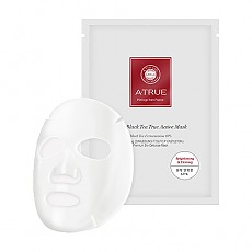 [A'True] Real Black Tea True Active Mask 25g x 4sheet