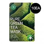 [Tosowoong] Pure Green Tea Mask 10pcs