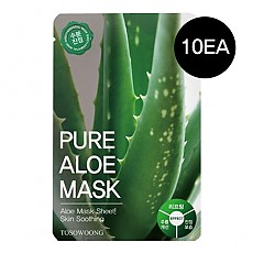 [Tosowoong] Pure Aloe Mask 10pcs