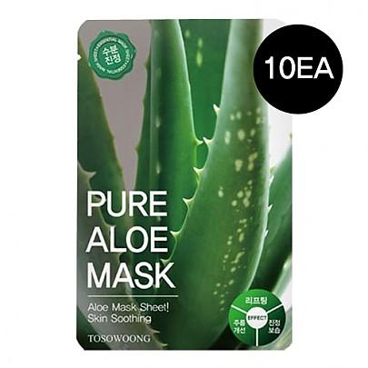 [Tosowoong] Pure Aloe Mask 10pcs