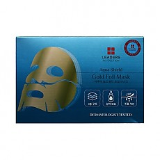 [Leaders] Ex Solution Aqua Shield Gold Foil Mask