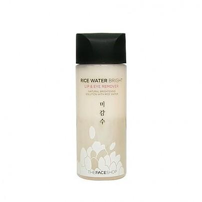 [The Face Shop]大米亮白唇&眼卸妝液100ml