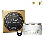 [PETITFEE]黑珍珠黃金眼貼60ea