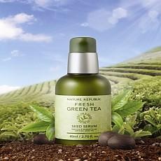 [自然乐园]新鲜绿茶籽精华保湿液 50ml