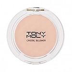 [ Tonymoly]水晶腮紅修容粉#16 鮮亮粉紅色 6g