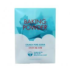 [Etude house] Baking Powder Crunch Pore Scrub 7g (Packs of 24)