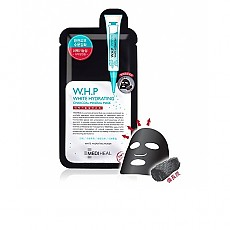 [Mediheal]美迪惠爾WHP竹炭美白黑碳面膜10片/1盒