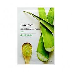 [Innisfree]真萃鮮潤面膜1片-蘆薈(舒緩補水)20ml