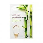 [Innisfree]真萃鮮潤面膜1片-竹子(保濕補水)20ml(貼片式)