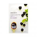 [Innisfree]真萃鮮潤面膜1片-黑莓(童顏肌膚)20ml(貼片式)