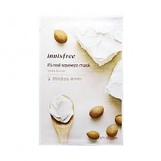 [Innisfree]真萃鮮潤面膜1片-乳木果(滋潤保濕)20ml(貼片式)