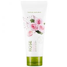 [Nature Republic] Real Nature Foam Cleanser #Rose