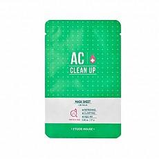 [Etude house] AC Clean up Sheet Mask 1ea 27g