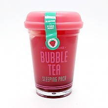 [Etude House]珍珠奶茶睡眠面膜-草莓100g