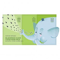 [Nature Republic] Blackhead Clear 3-Step Nose Pack