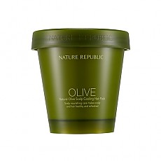 [Nature Republic] Natural Olive Scalp Cooling Hair Pack 200ml