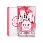 [Coringco] 外带化妝刷子粉紅色套裝