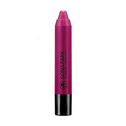 [SON&PARK]蠟筆唇膏口紅 #17 Orchid Purple