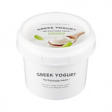 [Nature Republic]希臘酸奶面膜 #綠茶原味