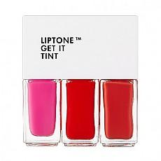 [Tonymoly] liptone get it tint 染唇液#01 (Soft Trio)