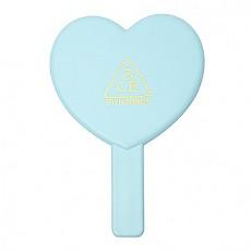 [3CE] Love 3CE Heart Hand 鏡子 (Blue)