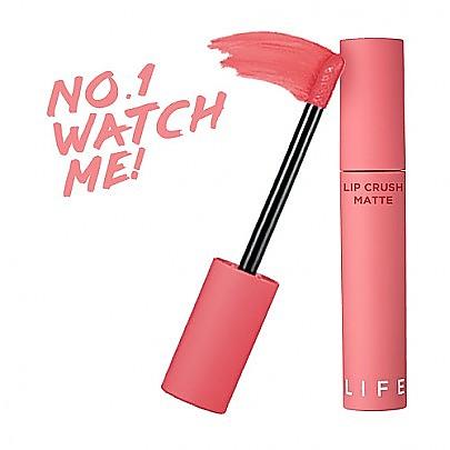[It′s Skin] 霧面唇釉口紅 Life Color Lip Crush Matte #01 (Watch Me)
