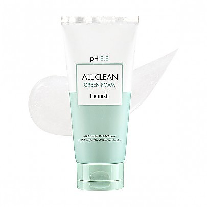 [Heimish] pH 5.5 全效清潔綠色洗面奶 150ml