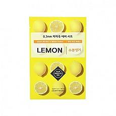 [Etude house] 0.2mm毫米空氣感植物水果面膜貼 (Lemon檸檬)