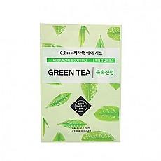 [Etude house] 0.2mm毫米空氣感植物水果面膜貼 (Green Tea綠茶)