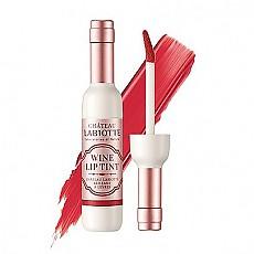 [LABIOTTE] 白紅酒瓶絲絨染唇液 #RD01