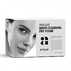 [Avajar] Quick Cleansing Dry Tissue 15 EA