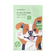 [Innisfree] My Real Pet Mask Beagle #Soothing