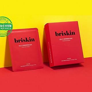 [Briskin] Real Fit Second Skin Mask (抗老 皺紋 緊實) 10个