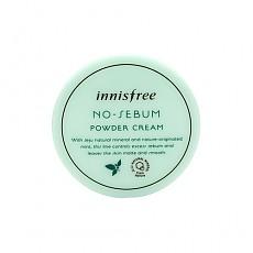 [Innisfree] No Sebum Powder Cream 25ml