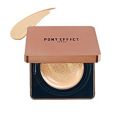 [MEMEBOX] PONY EFFECT Cover Stay Cushion Foundation SPF40 PA+++ (Rosy Beige)